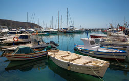 Moraira nautic port Royalty Free Stock Photos