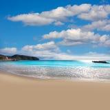 Moraira Playa la Ampolla beach  Alicante Spain Royalty Free Stock Image