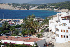 Moraira Royalty Free Stock Photo