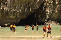 Morakot Cave Royaltyfri Bild