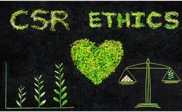 Moral behavior in business. Ethics. CSR. Corporate social responsibility.Ethics. CSR. Corporate social responsibility. Moral behavior in business Stock Photos