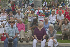 Moral Monday, Let The People Vote Royalty Free Stock Image