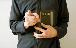 Moraliser, missionnaire, oppression et coupable Image stock