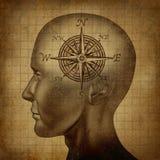 Moralisk kompass vektor illustrationer