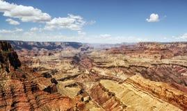Moran Point - Grand Canyon, södra kant - Arizona, AZ Royaltyfria Bilder