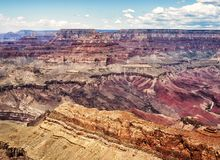 Moran Point canyon view- Grand Canyon, South Rim - Arizona, AZ. Moran Point - Grand Canyon, South Rim - Arizona, AZ, USA royalty free stock photography