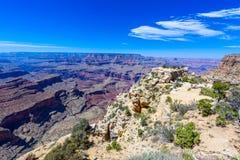 Moran View Point p? den Grand Canyon nationalparken, Arizona, USA fotografering för bildbyråer