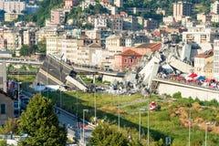 Morandi bro arkivfoto