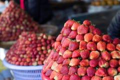 Morango Imagens de Stock Royalty Free