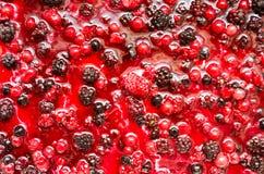 Morango, amora-preta e framboesa Foto de Stock