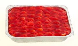 Morango do bolo imagens de stock royalty free