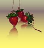 Morangos Imagens de Stock Royalty Free