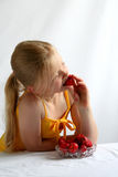 Morangos Fotografia de Stock Royalty Free