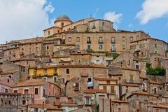 Morano Calabro, región Calabria, Italia Foto de archivo libre de regalías