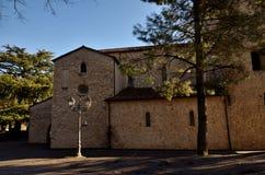 Morano Calabro, vila empoleirada no parque nacional de Pollino Imagens de Stock Royalty Free