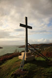 Morar cross on the hill Royalty Free Stock Photos