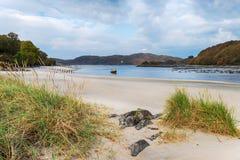 Morar plaża w Szkocja fotografia royalty free