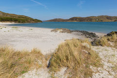 Morar West coast of Scotland UK beautiful coastal Scottish tourist destination located south of Mallaig Royalty Free Stock Images