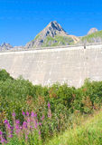 Morasco dam, formazza valley Stock Images