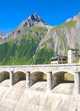 Morasco dam, formazza valley Stock Photography