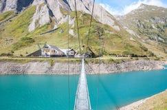 Morasco lake in Formazza region Italy Stock Photo