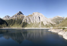 Morascomeer in Formazza-vallei, Italië Stock Foto