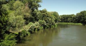 Morava Fluss Lizenzfreie Stockfotografie