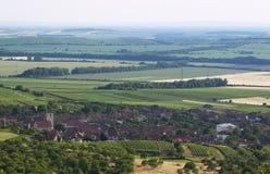 Moravia country. Moravia vineyard country near Mikulov, Czech Republic Stock Image