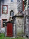 moravian城堡的门道入口 免版税库存照片