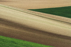 Moravian领域 免版税库存图片