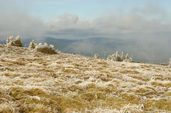 moravian βουνά επαρχίας Στοκ φωτογραφία με δικαίωμα ελεύθερης χρήσης