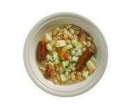 Moravian bean soup Royalty Free Stock Photo