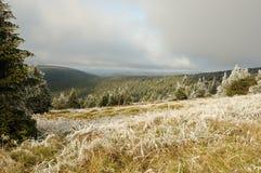 moravian berg Royaltyfria Bilder