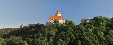 Moravian castle Veveri Royalty Free Stock Images
