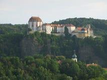Moravian castle Vranov nad Dyji Stock Photography