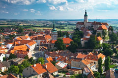 Moravian city Stock Photography