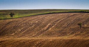 Moravian Fields - an area called the Moravian Tuscany, Czech republic, Europe Stock Photography