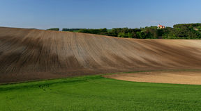 Moravian Fields XIV Stock Image