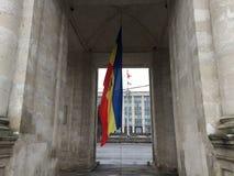 Moravian-Flagge Stockbilder