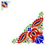 Moravian folk ornament Stock Images