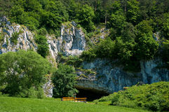Moravian Karst. Photos stock