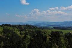 Moravian Landschaft Stockfotos