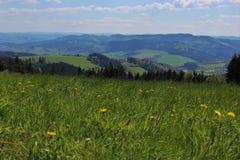 Moravian Landschaft Stockfotografie