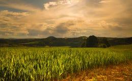 Moravian-Landschaft Doubravice Lizenzfreies Stockbild