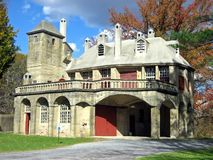 Moravian Mansion royalty free stock photography
