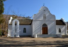 Moravian Mission Church, Wuppertal, Cederberg Royalty Free Stock Photos