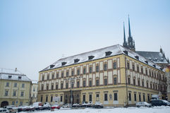 Brno, Czech Republic. The Moravian Museum in Brno. Czech Republic royalty free stock images