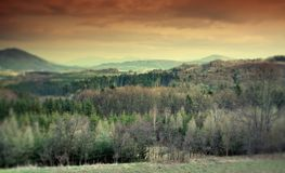Moravian-Silesian Beskids Royalty Free Stock Images