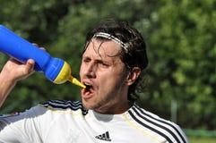 Moravian-Silesian Division, footballer M. Sramek Stock Images