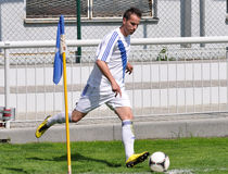Moravian-Silesian League, footballer Boris Forster Royalty Free Stock Photography